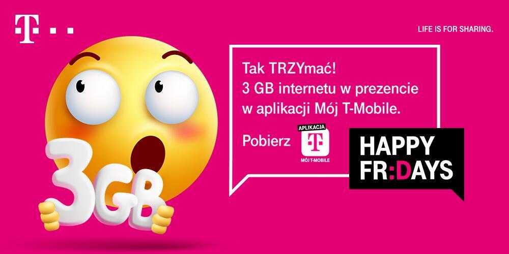 Darmowe 3 GB w T-Mobile