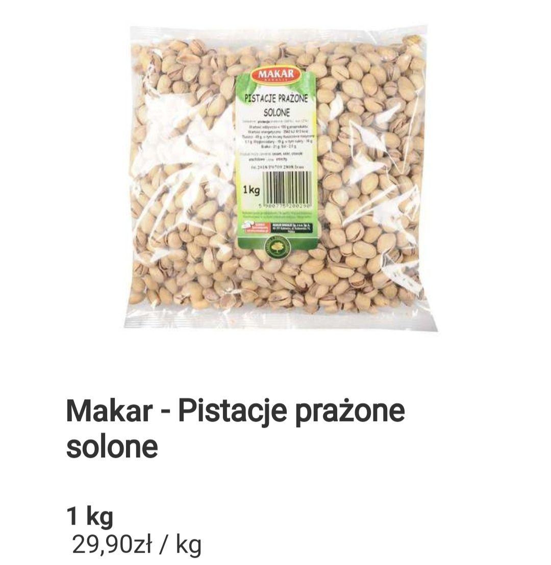 Pistacje prażone solone - 1kg - 29,90 w Auchan