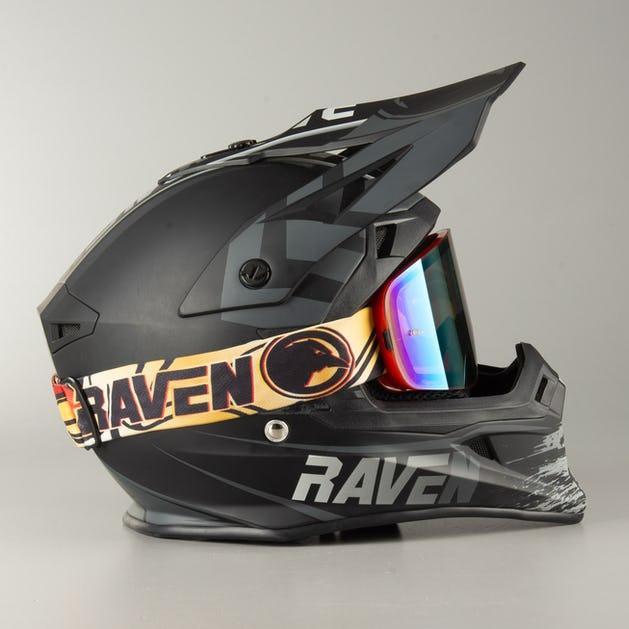 Gogle Cross Raven Edge Sparta dla zmotoryzowanych Enduro/Motocross