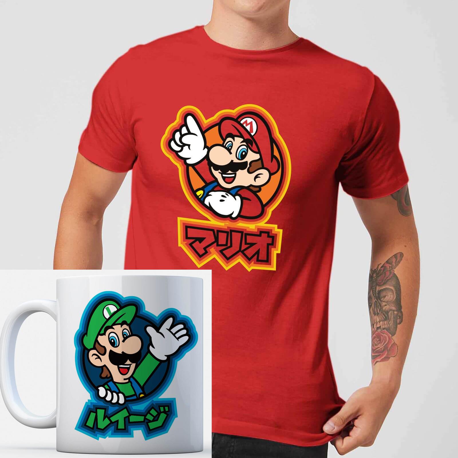 Licencjonowane koszulka i kubek Nintendo za £8.99 @Zavvi
