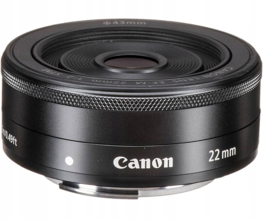 Canon 22mm EF-M Obiektyw cena bajka