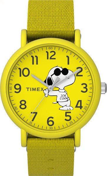 Timex, Zegarek unisex Weekender Snoopy TW2T66000