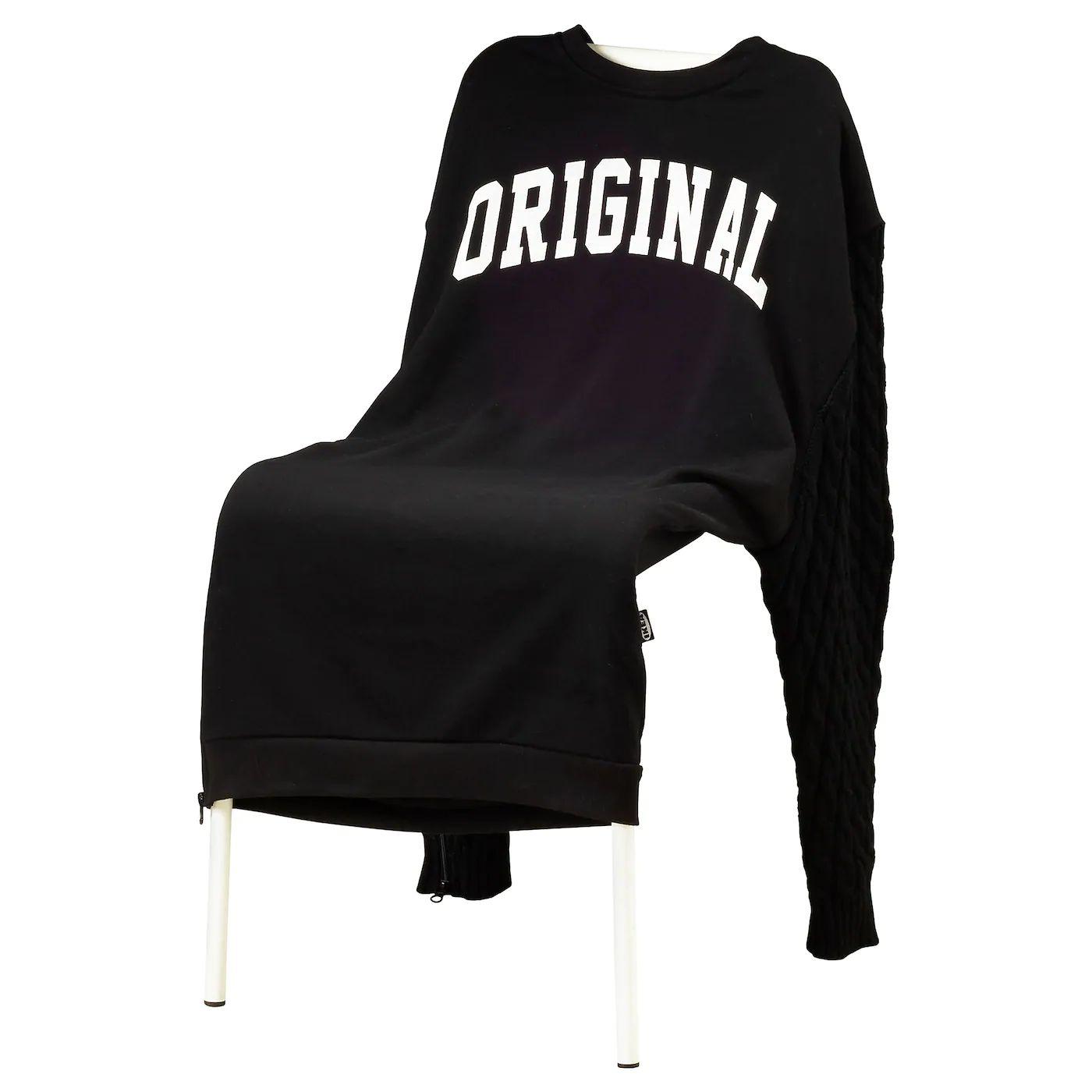 Czy twoje krzesło ma kieszenie? IKEA Pokrycie krzesła, projektant Greyhound Original Bangkok