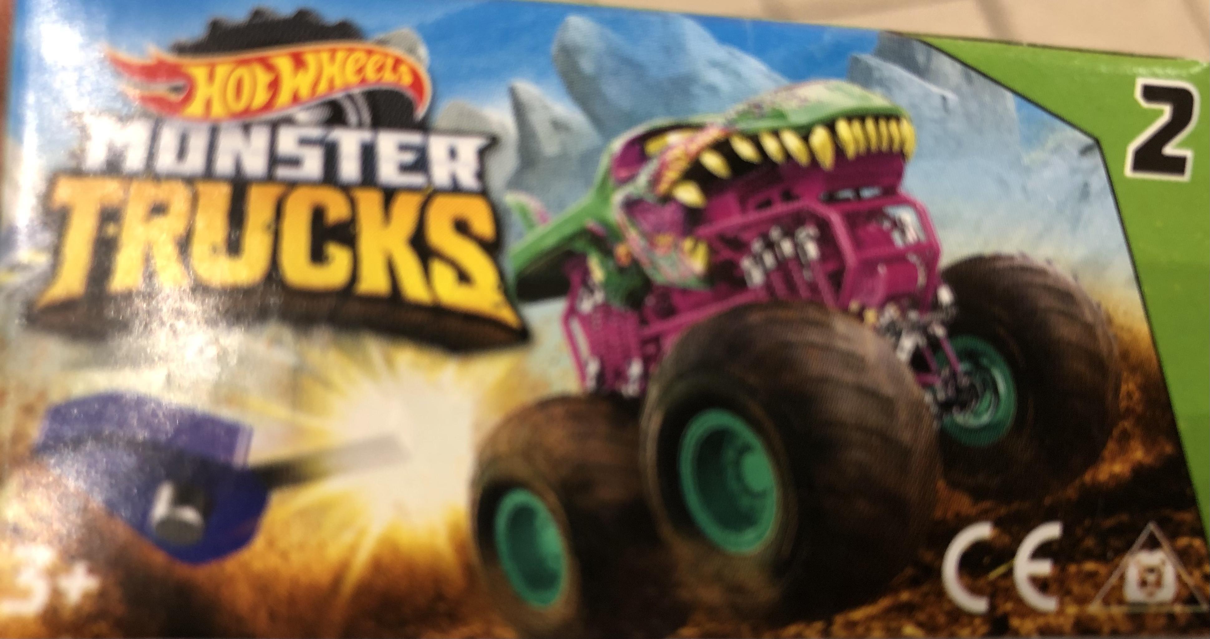 hotWheels Monster Truck (male z kluczykiem) Auchan Tulipan @Lodz