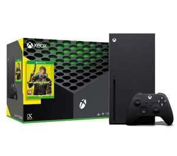 Xbox Series X + Cyberpunk 2077 + drugi pad - euro.com.pl