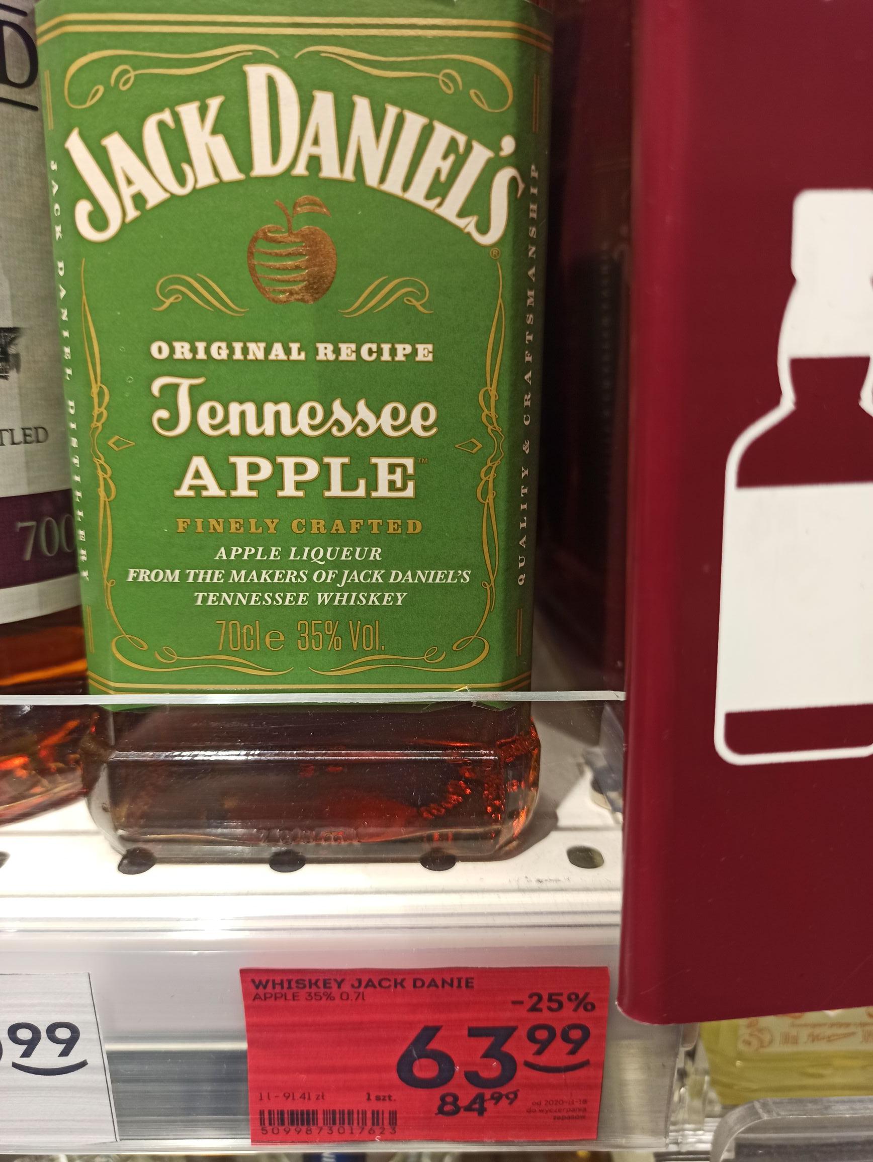 Jack Daniels Apple 0.7l