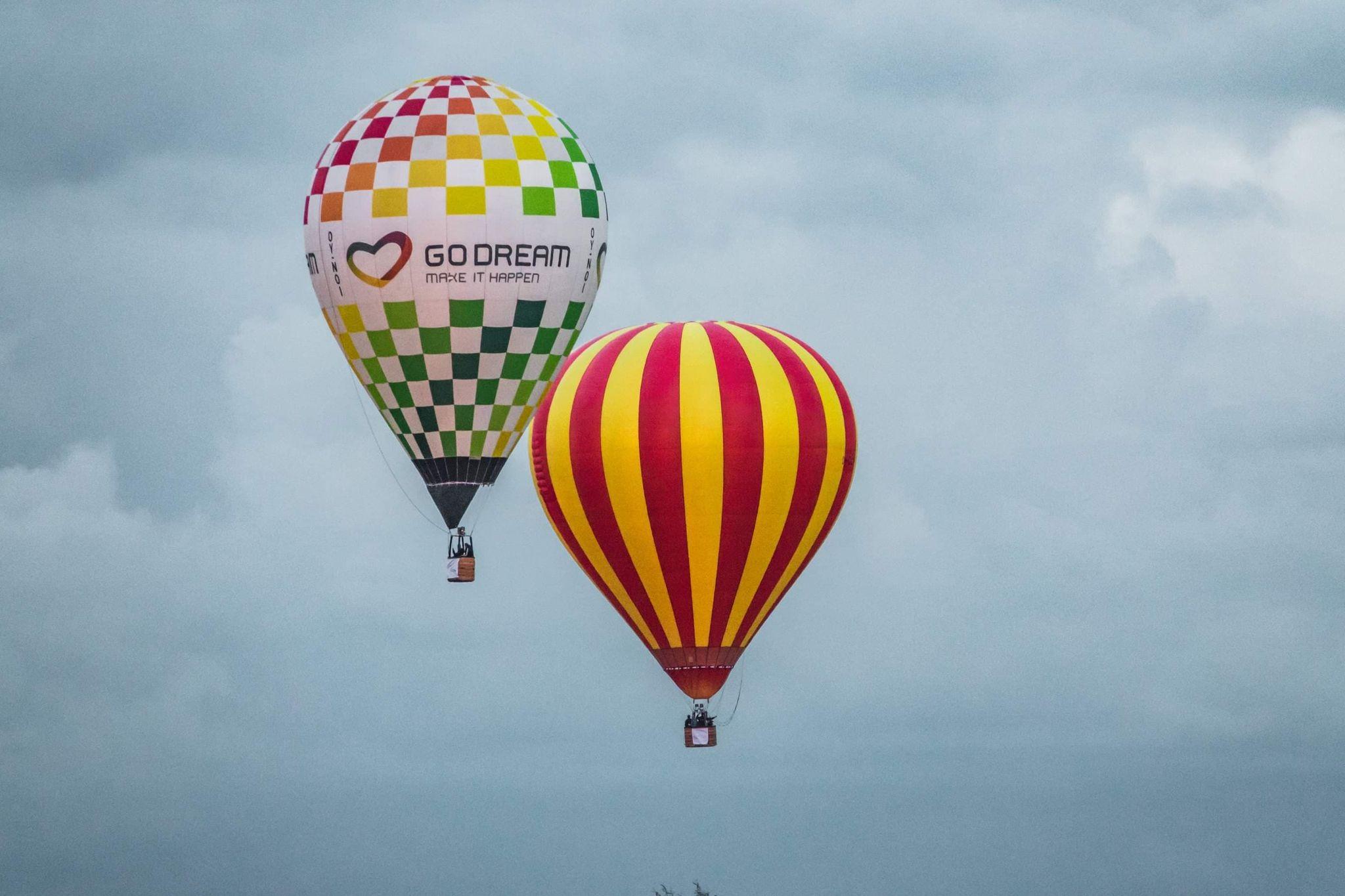 Dwa bilety na lot balonem