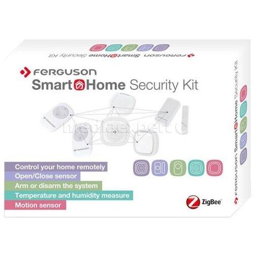 Ferguson Smart Home Security Kit - bezprzewodowy zestaw alarmowy 6 elementów