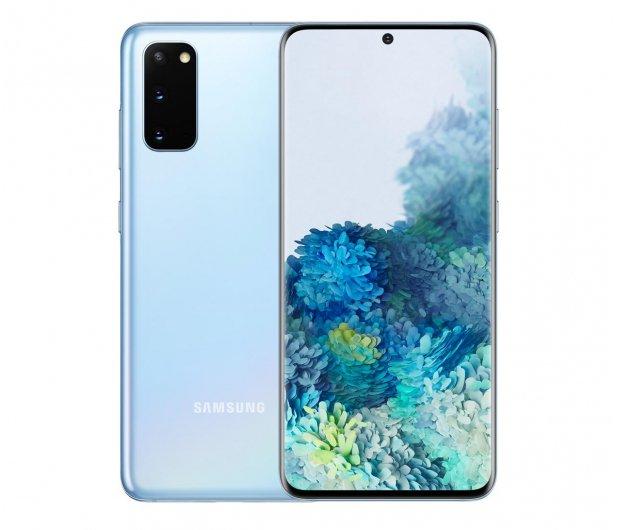 Smartfon Samsung Galaxy S20 G980F Dual SIM Cloud Blue + możliwy cashback 400 zł