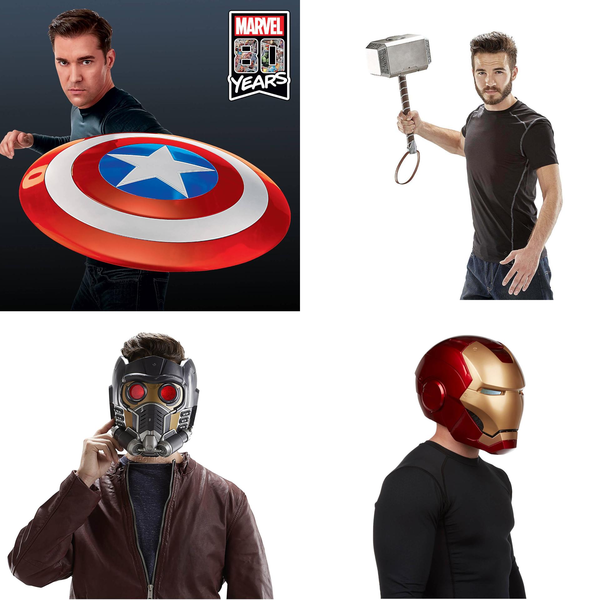 Licencjonowane produkty MARVELA od Hasbro (w tym repliki broni i sprzętu Avengers) @zavvi
