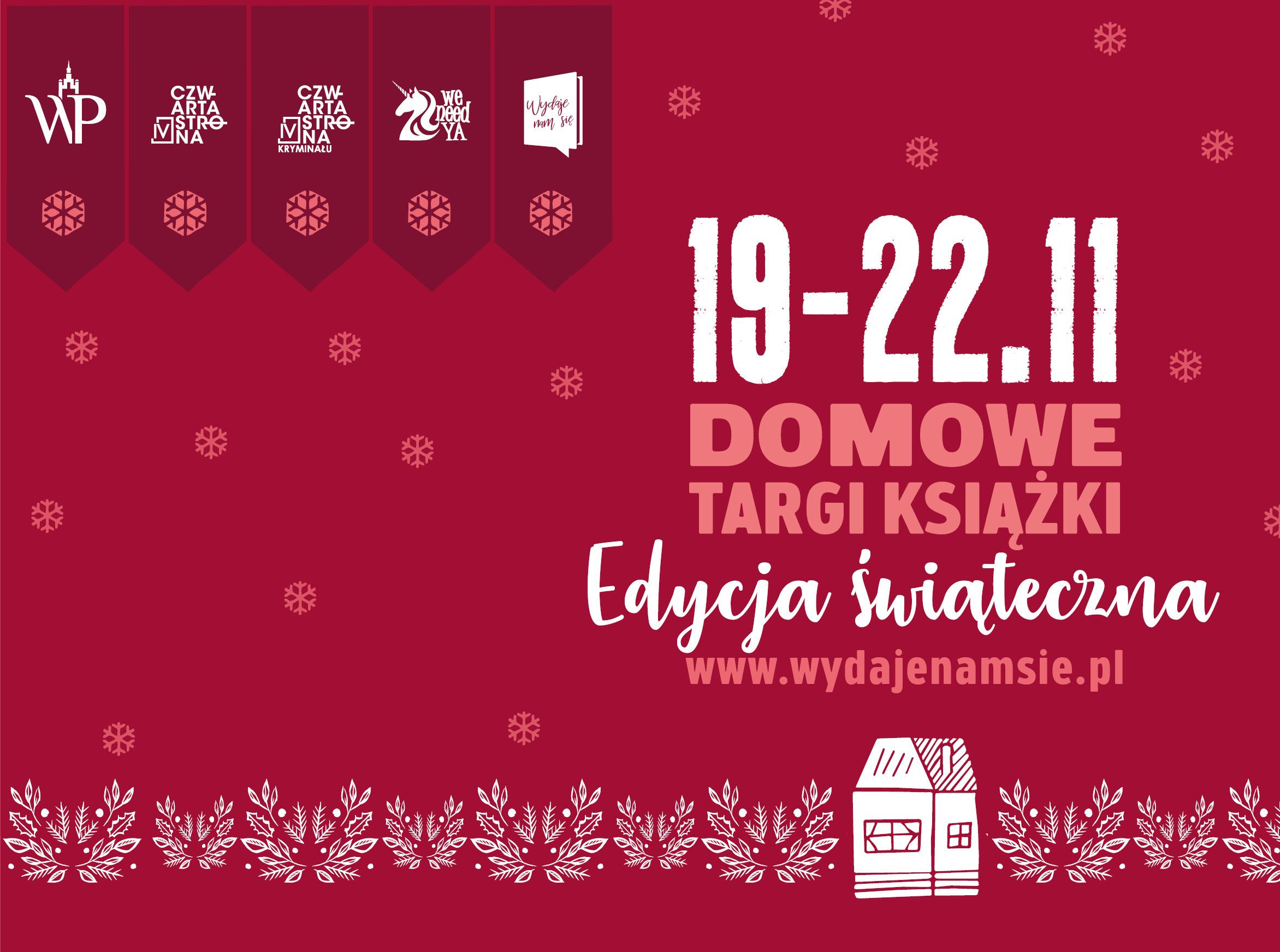 Wydawnictwo Poznańskie Domowe Targi Książki 19-22 listopada