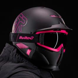 Kask Ruroc RG1-DX Snowboard Narty Rolki Rower