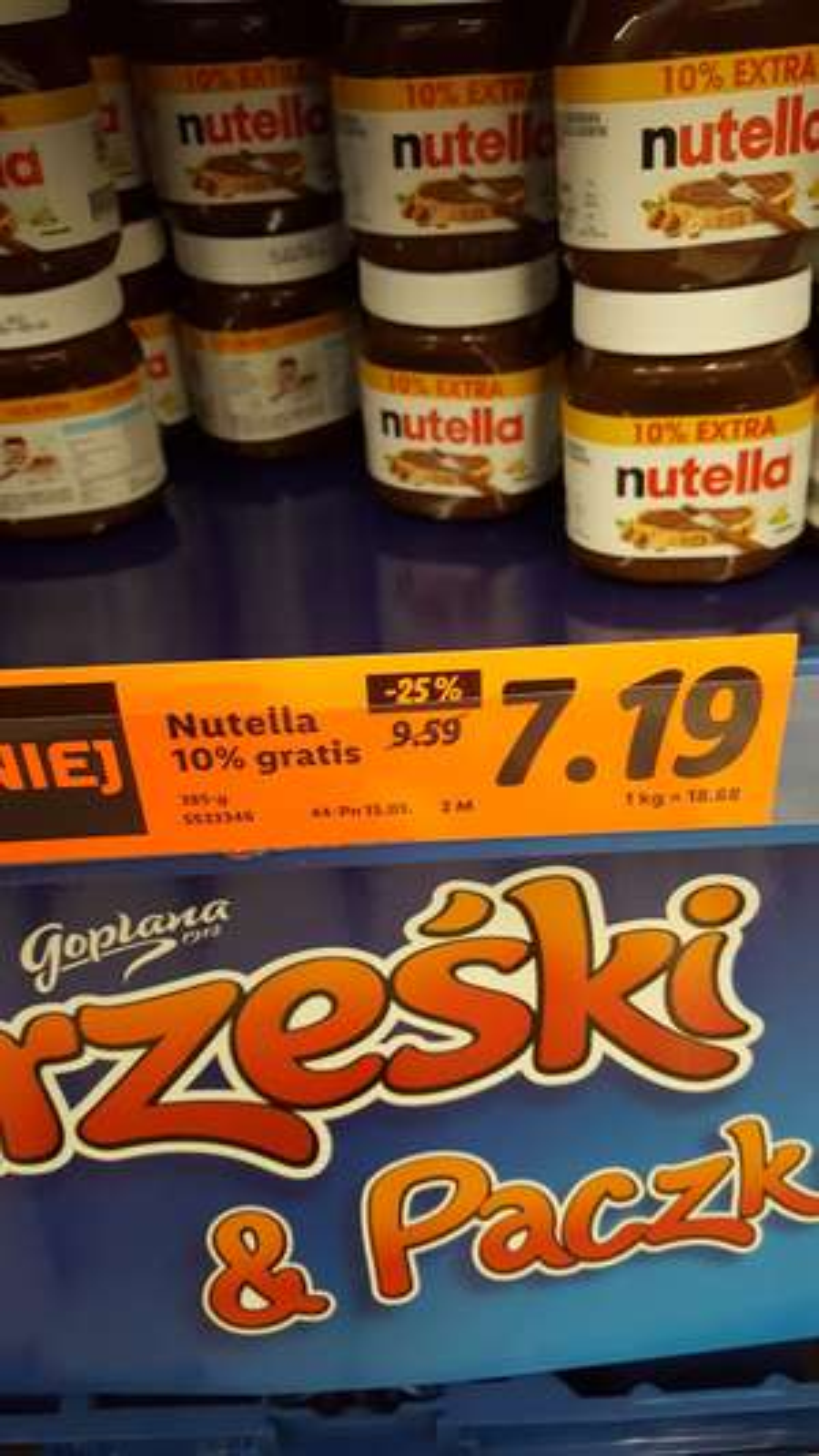 Nutella 385g Lidl