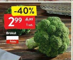 Brokuł 2,99zł/szt. w Intermarche