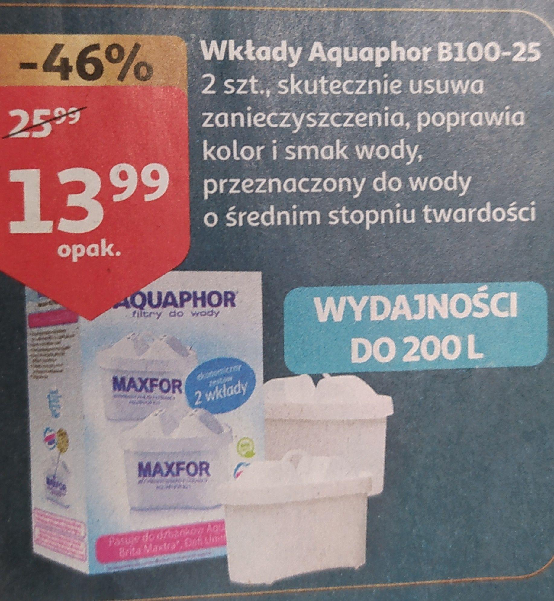 Aquaphor Maxfor B25 2sztuki - 6,99 szt. - Pasują do Dafi/Brita