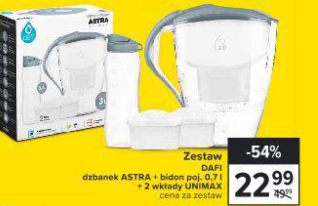 Zestaw DAFI: DZBANEK ASTRA 3.3L + BIDON 0.7L + 2 WKŁADY unimax - Carrefour