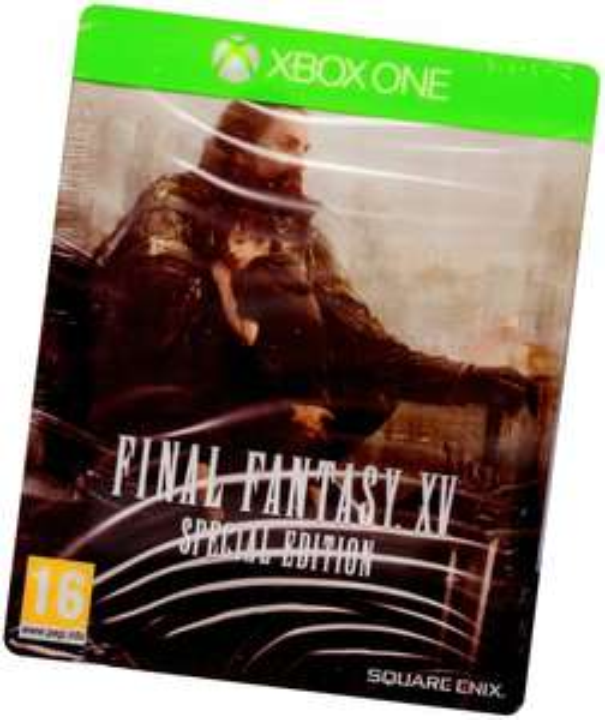 Final Fantasy XV 15 Ed Specjalna + Steelbook + DLC