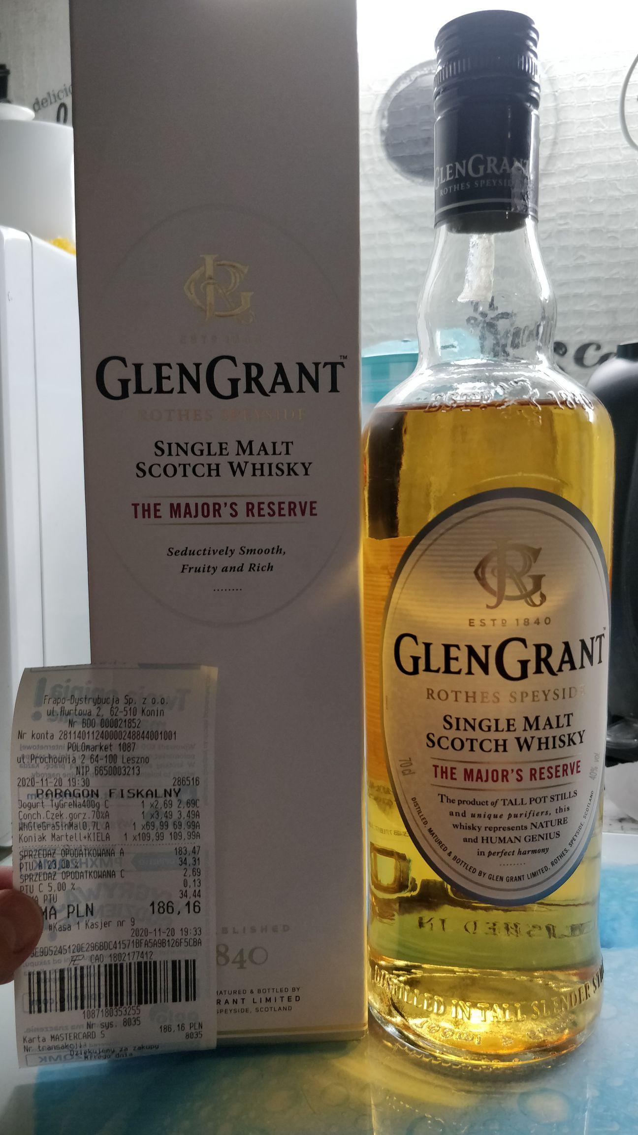 Whisky Glen Grant Reserve