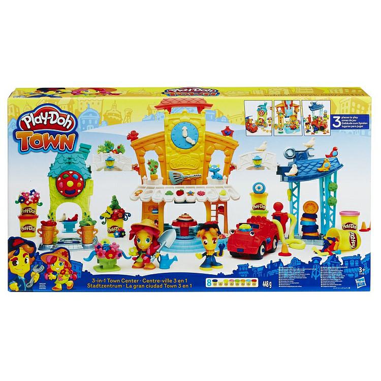 Play-Doh, Town, Centrum 3w1 w Biedronce