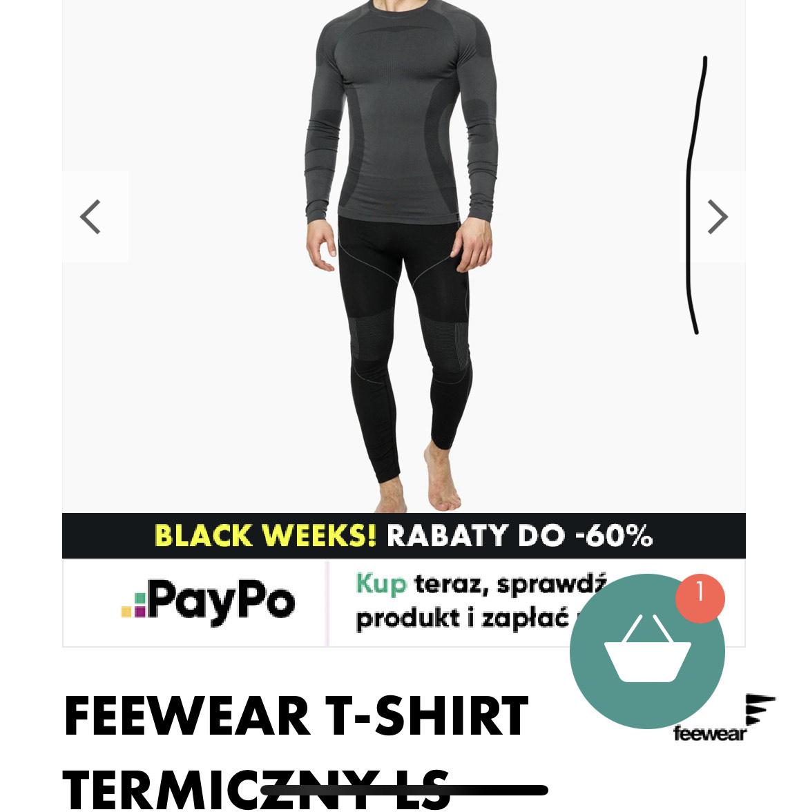 T-shirt termiczny FEEWEAR