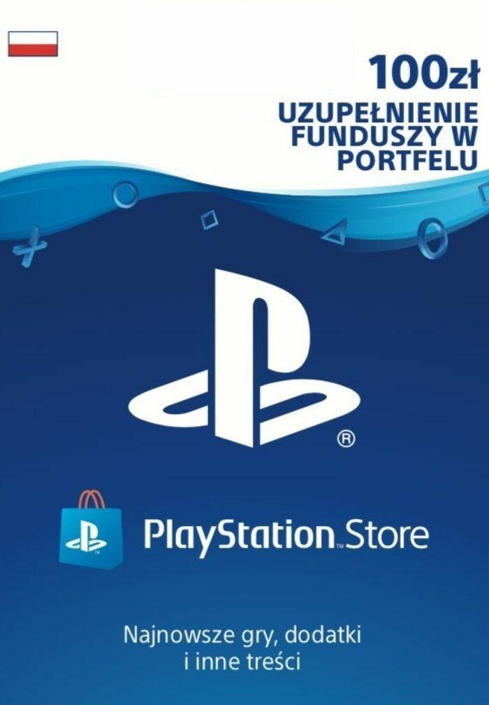 Doładowanie do PlayStation Store 100PLN