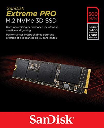 SanDisk Extreme PRO M.2 NVMe 3D SSD 500GB (jest też 1TB w dobrej cenie)