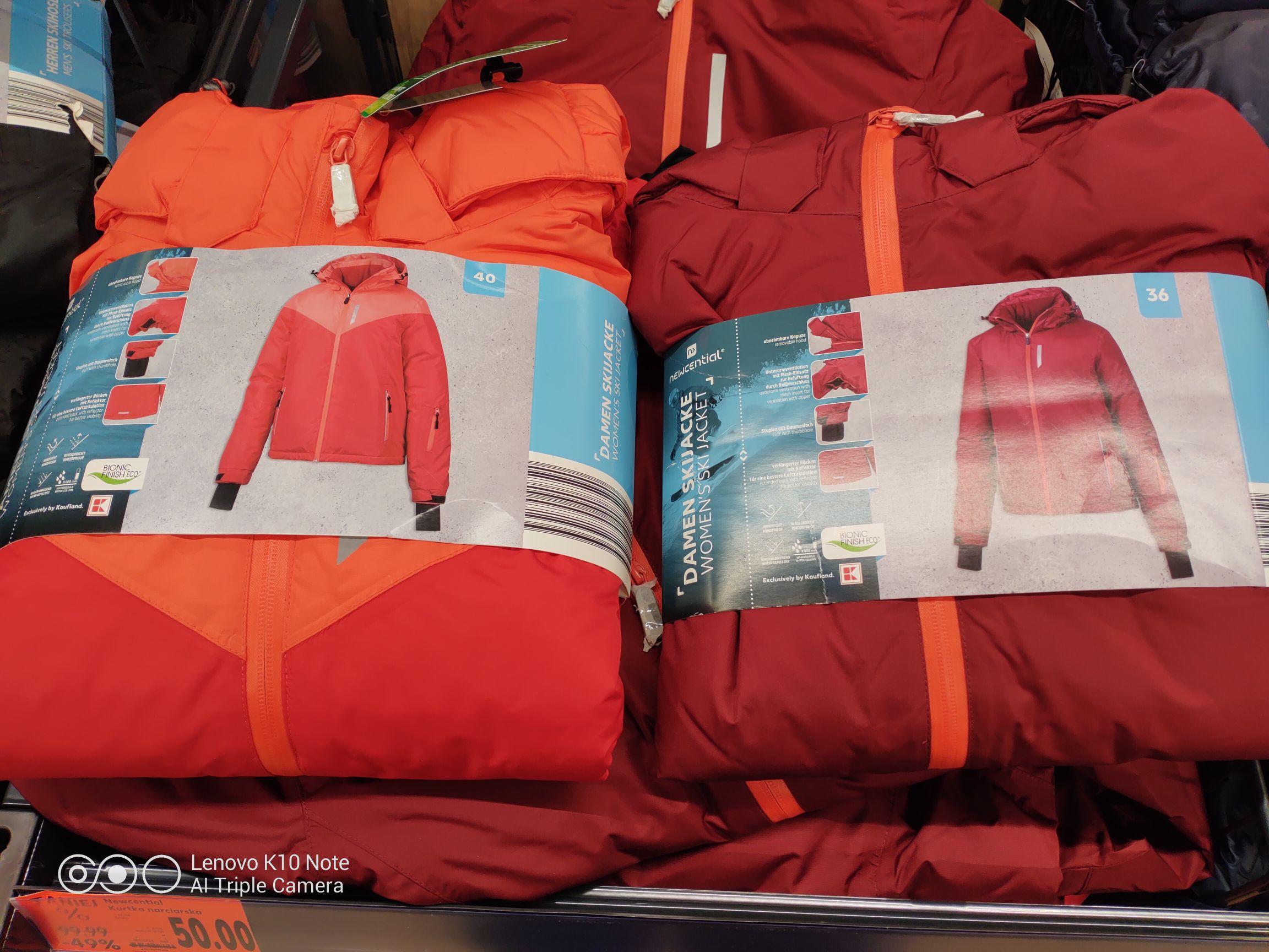 Newcential odzież zimowa - Kaufland Gdańsk