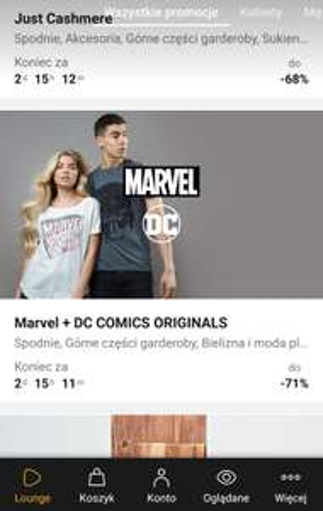 Zalando Lounge - Kolekcja Marvel & DC do -71%