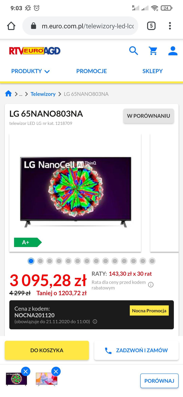 LG 65NANO803NA