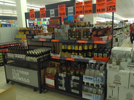 LIDL AKTUALNE CENY ALKOHOLI (grants 0,5l - 29,90zł)