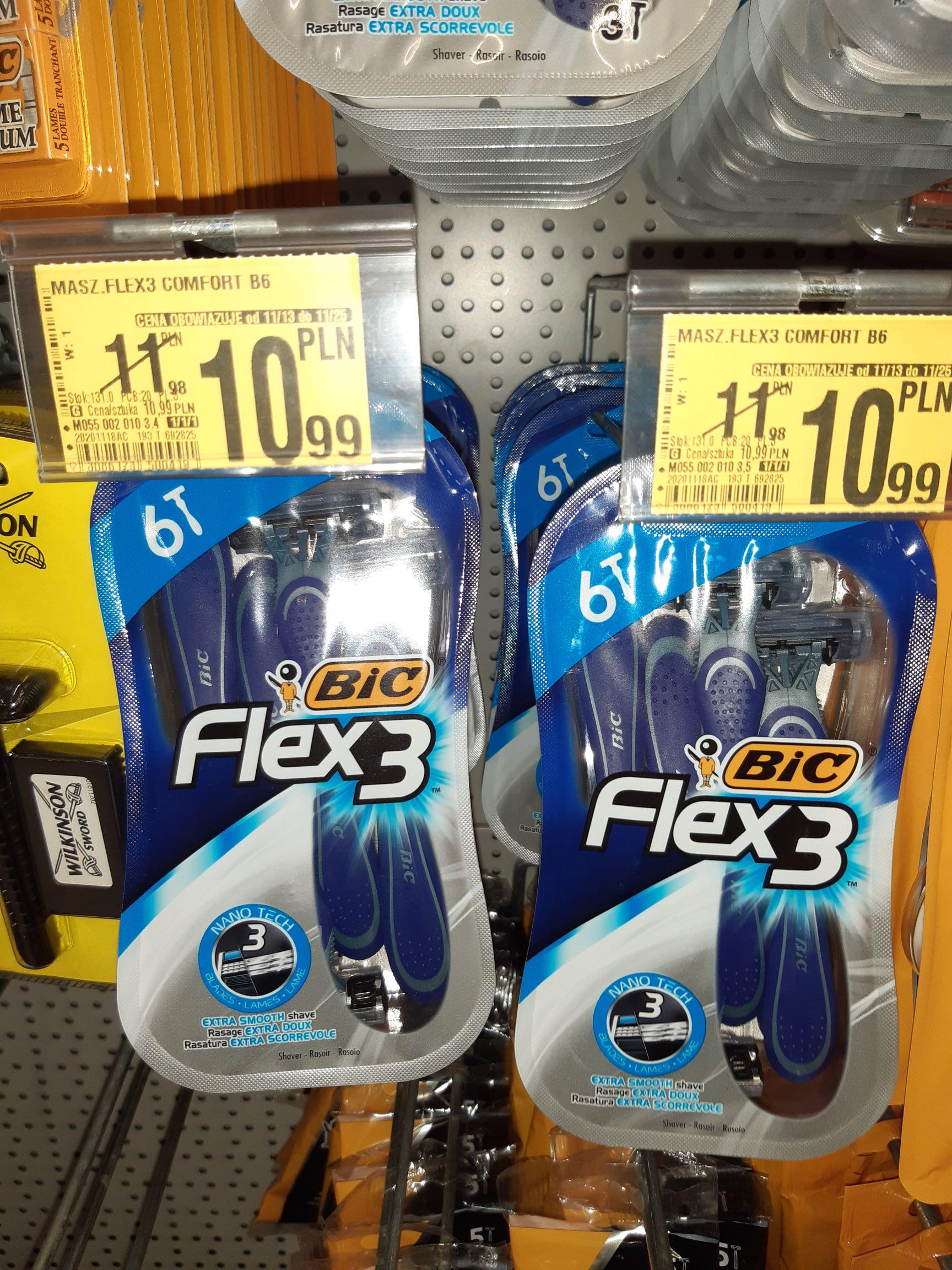 Maszynka do golenia BIC Flex 3