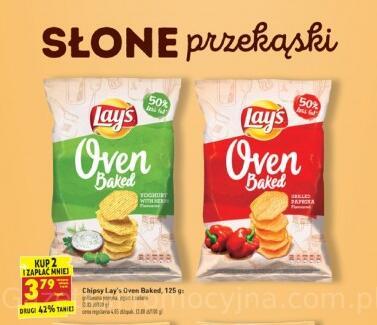 Lay's Oven Baked, 125g 3,79zł przy zakupie 2 - Biedronka