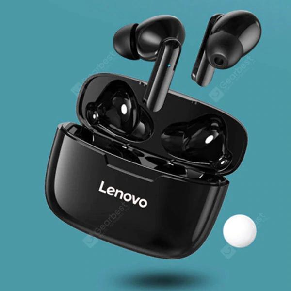 Słuchawki bluetooth 5.0 Lenovo XT90 TWS - czarne.@Gearbest