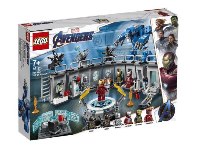 Lego Marvel Avengers 76125 (Zestaw Zbroje Iron Mana 524 Elementy)