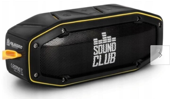Sound Club mini Bezprzewodowy głośnik o podwyższonej odporności