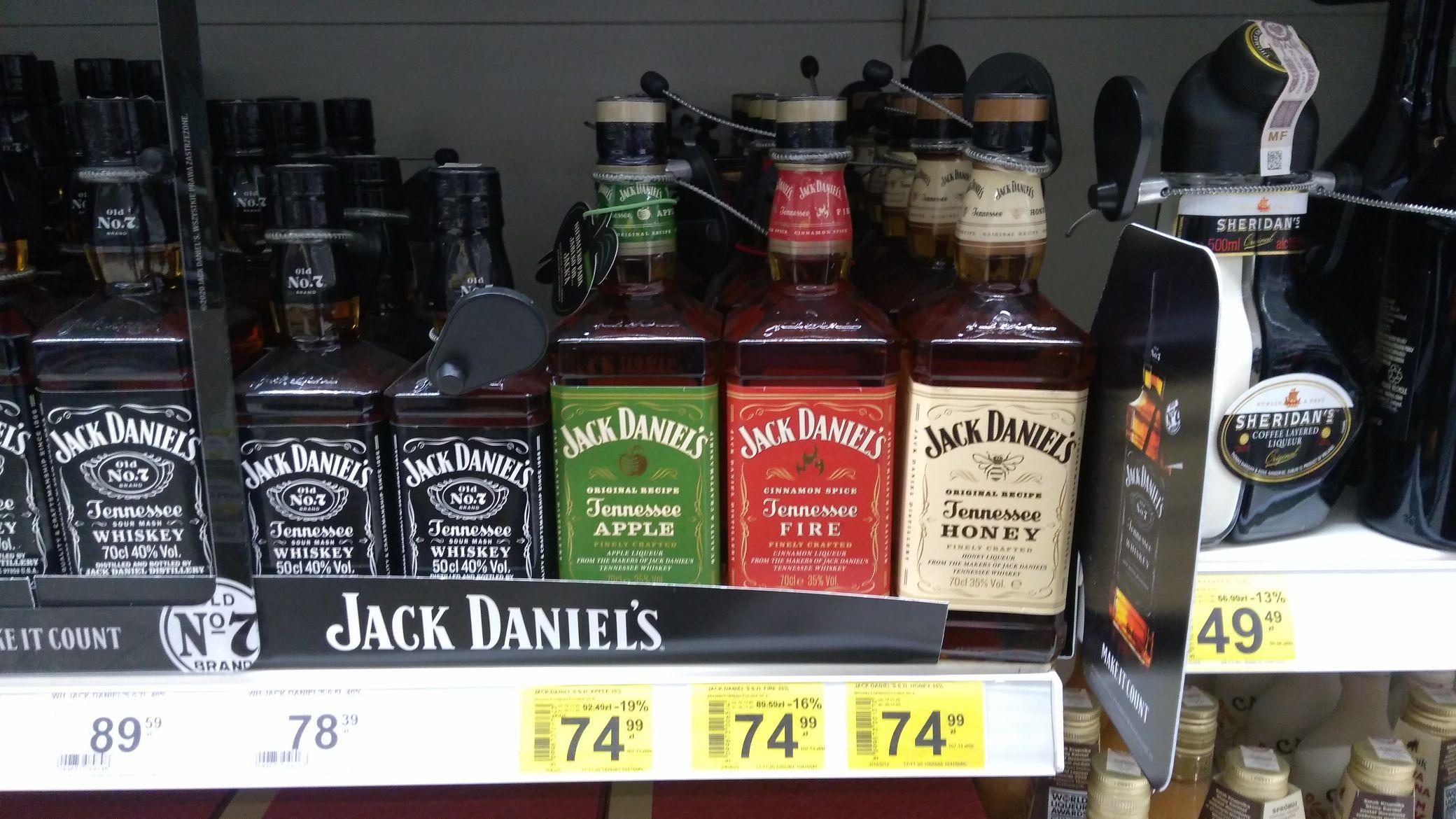Jack Daniels 0.7l Carrefour Market Gdańsk