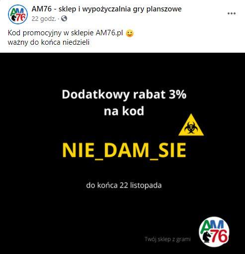 Kod rabatowy NIE_DAM_SIE na gry planszowe