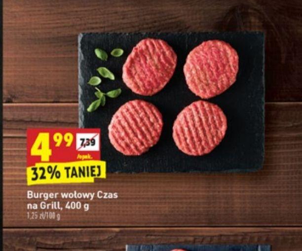Burger wołowy 400g-biedronka