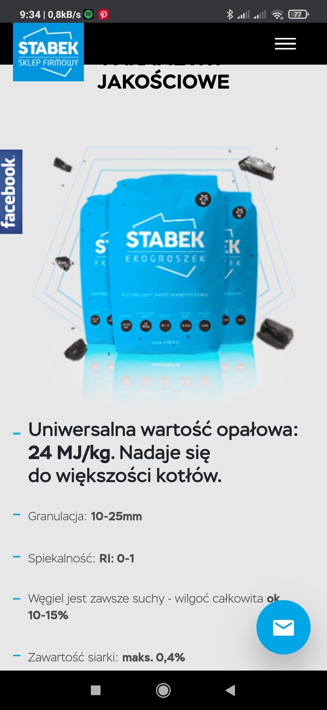 Ekogroszek Stabek 24MJ