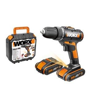 WORX WX101.1 Wiertarko-wkrętarka akumulatorowa 20V 2x aku 1,5Ah
