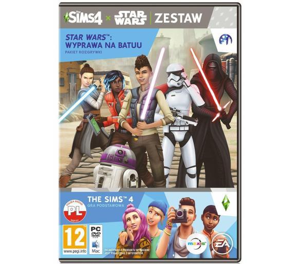 Gra zestaw The Sims 4 + dodatek Wyprawa do Batuu na PC, RTV EURO AGD