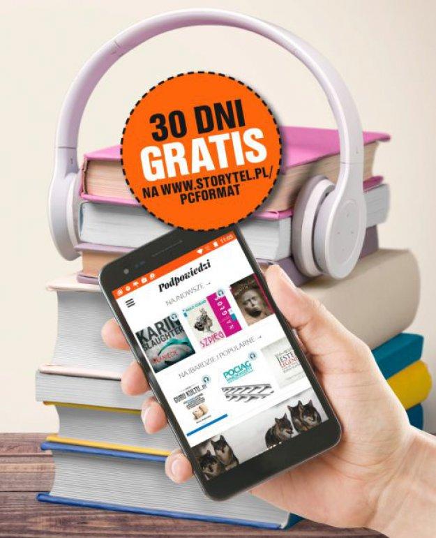Kod na 30 dni abonamentu gratis do Storytel