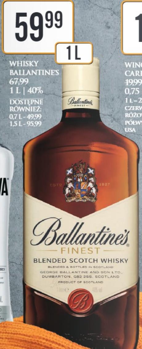 Whisky Ballantine's 1l - DINO