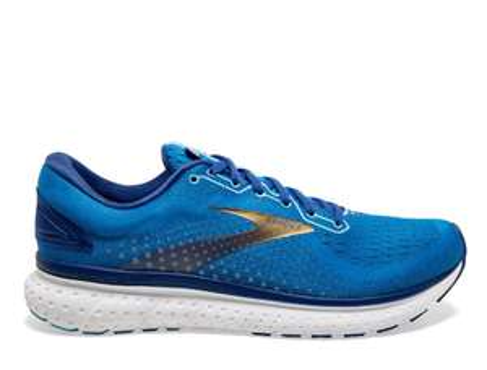 Buty do biegania Brooks Glycerin 18 M Niebiesko-Złote