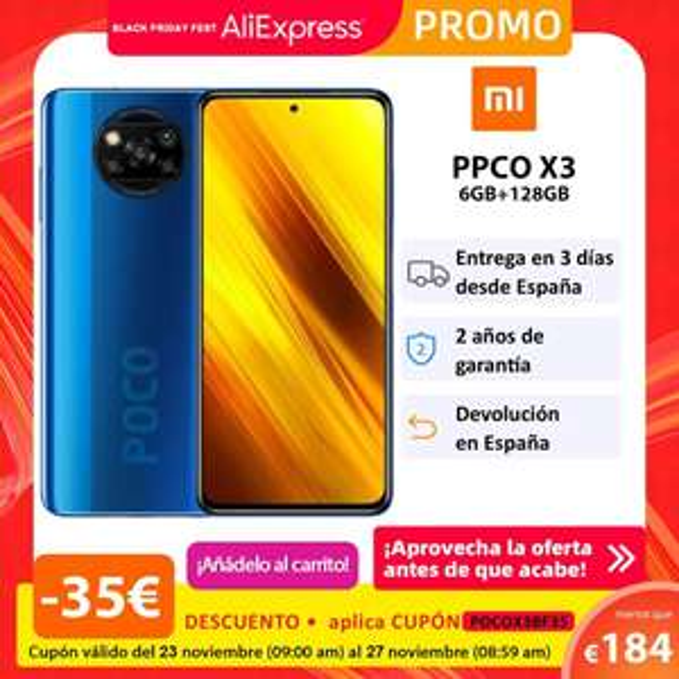 Smartfon Poco x3 6/128 GB