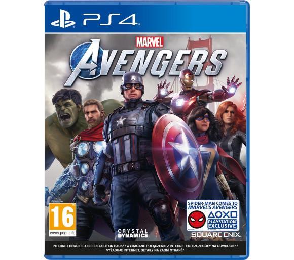 [PS4] Marvel's Avengers oraz Captain Tsubasa za 159 zł + przegląd promocji @Euro