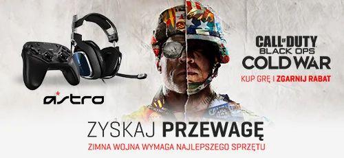 -20% na akcesoria Astro przy zakupie Call of Duty: Black Ops Cold War