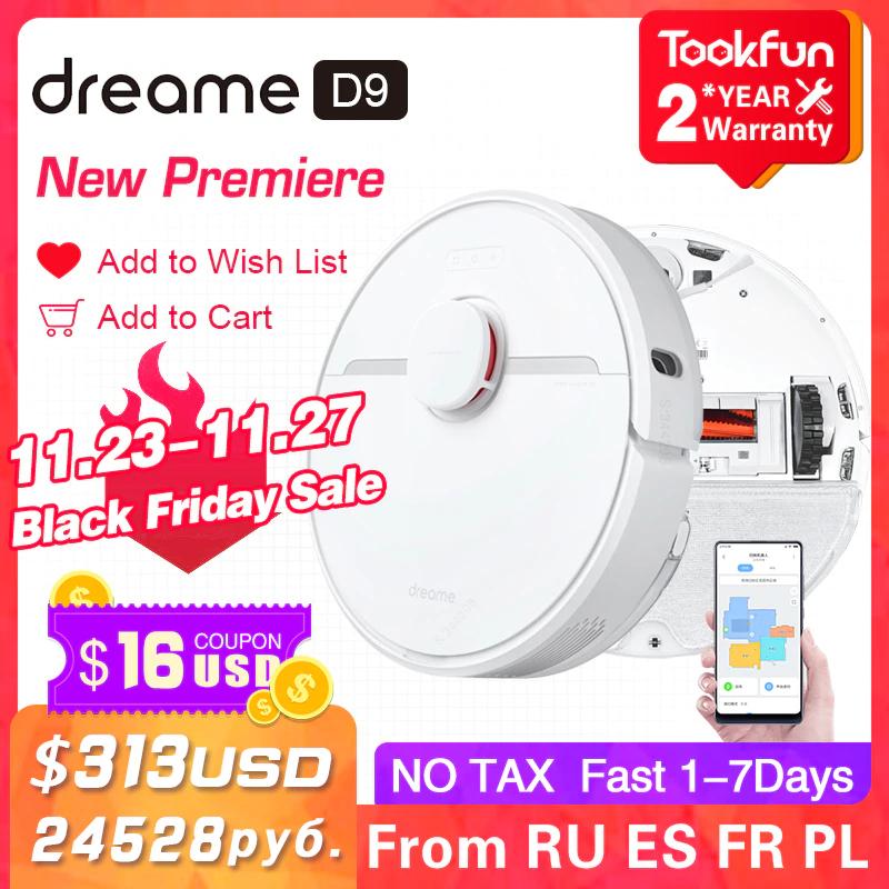 Odkurzacz Xiaomi Dreame D9 za $293,99