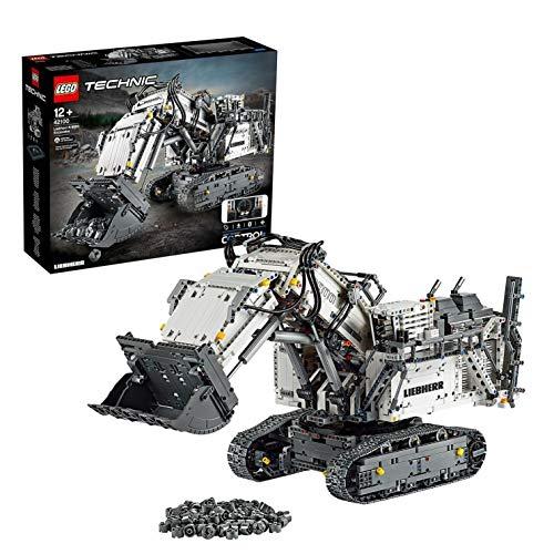 LEGO 42100 Technic - Koparka Liebherr R 9800 (280€) (i inne)