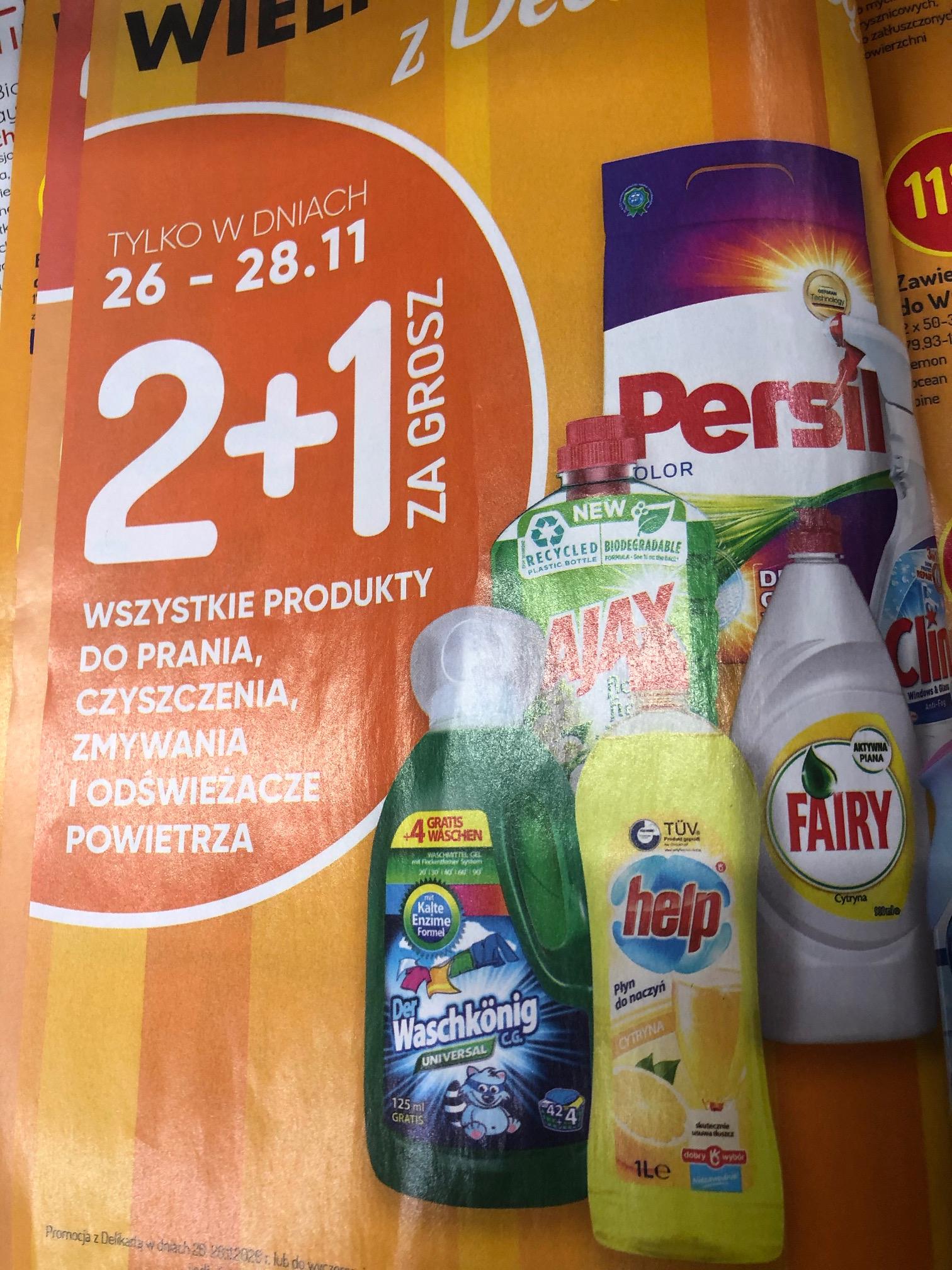 Wszystkie produkty do zmywania i czyszczenia